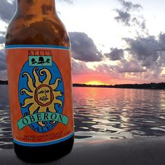 Sadly the sun is setting on another season of Oberon ... get it while you can. #LastCall by bellsbrewery