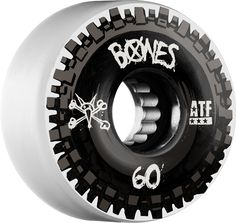 """Bones ATF Nobs Skateboard Wheels in white 60MM a soft 80a durometer for concrete and asphalt, these wheels work for parks, sidewalks, and street. We are an authorized Bones dealer through Skateone. """"S"""