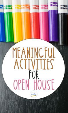 Wondering how to make Open House meaningful for your students' learning? Read about some tips and grab some freebies to ensure your students' Open House projects actually have purpose!