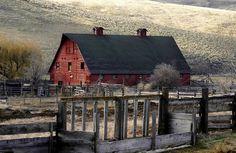 Barn in Oregon