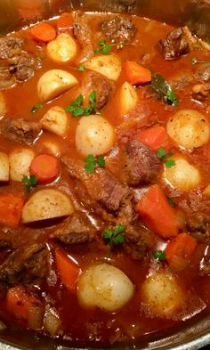 4 Points About Vintage And Standard Elizabethan Cooking Recipes! Slowly Cooked Beef Stew Makes For A Comforting Meal On A Cold Winter Day. Incredible With Mashed Potatoes, Crusty Bread Or Steamed Rice. Top Recipes, Mexican Food Recipes, Beef Recipes, Cooking Recipes, Healthy Recipes, Cooking Ideas, Dinner Recipes, Healthy Foods, Dinner Ideas