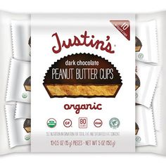 If you haven't tried Justin's Dark Chocolate Peanut Butter Cups, YOU ARE MISSING OUT. It's a Healthy Food Awards Winner for FITNESS' Sweet Treats Edition.