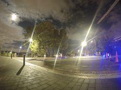 Subiaco Redevelopment at Night