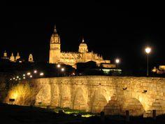 Salamanca antigua: Puente Romano