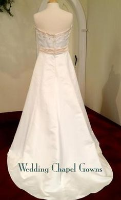 Eden Bridals 1211 12: buy this dress for a fraction of the salon price on PreOwnedWeddingDresses.com