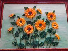 Sun Flower - quilling 2017
