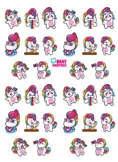 molde unicornios para capa espelhada Tumblr Stickers, Diy Stickers, Printable Stickers, Planner Stickers, Funny Iphone Wallpaper, Cute Wallpaper Backgrounds, Cute Wallpapers, Unicorn Art, Cute Unicorn