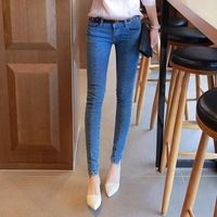 women's fashion denim jeans, pencil pants, trousers.