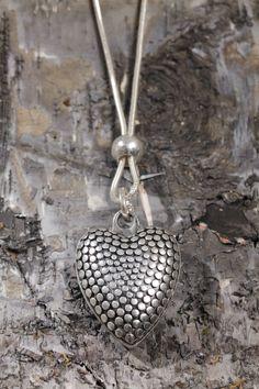 I HEART THIS!!! Pranella Chakara heart necklace