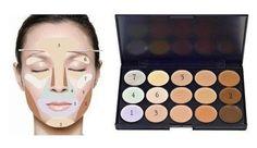 contornear el rostro maquillaje