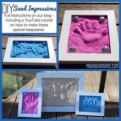 DIY Sand Imprints