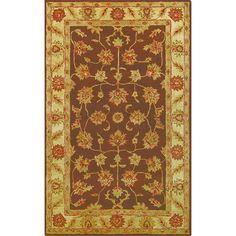 Noble Golden / Beige Wool Area Rug