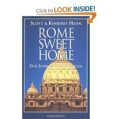 Book Review: Rome Sweet Home: Our Journey to Catholicism - A memoir of a couple's conversion from Presbyterian to Roman Catholic.  This was recommended by a friend that has recently converted as well.  It is a helpful memoir that speaks of the pain of rejection of by Protestant friends and family as well as demythologizing some of the areas that Protestants often misunderstand Catholic theology.