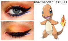 Charmander Makeup <3