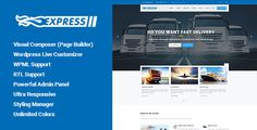 Download Free              Express - Transports and Logistics WordPress Theme            #               cargo #corporate #logistic #logistics #packaging #relocation services #shipment #shipping #storage #transport #transport services #transportation #truck #trucks #warehouse