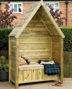 The Grange Livorno Arbour is a wonderful covered garden seating area and can be situated against a wall. #arbour #garden #seating