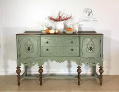Basil Milk Paint Buffet | General Finishes Design Center