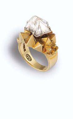 Stuart Devlin Ring - Vintage Jewellery UK    http://antiqueandvintagejewelleryuk.com