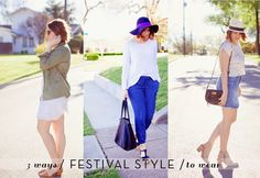 Kendi Everyday: Three Day Weekend / Festival Style