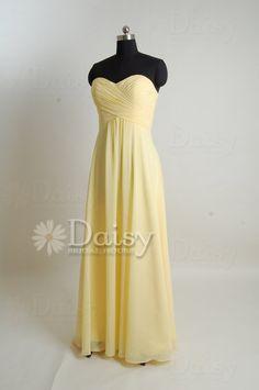 Yellow Bridesmaid Dress,Banana Yellow Dress Women,Sweetheart Yellow Bridesmaid Dress,Cheap Yellow Bridal Party Dress in handmade (BM0161221) on Etsy, $99.00