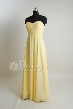 Hey, I found this really awesome Etsy listing at http://www.etsy.com/listing/154443365/yellow-bridesmaid-dressbanana-yellow