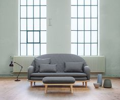 modular rise sofa and overlapping area tables by note design studio for fogia