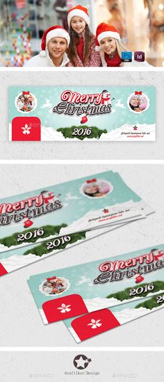 Christmas Cover Templates PSD #design Download: http://graphicriver.net/item/christmas-cover-templates/13402243?ref=ksioks
