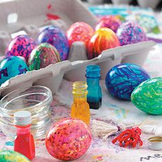 Coloring Easter Eggs | Taste of Home