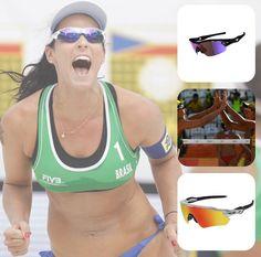 #Ágatha e #Bárbara vencem tchecas na estreia do vôlei de praia PARABÉNS!  #rio206 #volei #praia #olimpiadas #olimpics #oticaswanny #oakley #sunglasses #esporte #sol #somostodosolimpicos #riodejaneiro #brasil #oculosesportivos #oscarfreire
