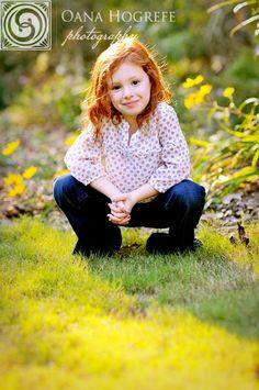 Cute little redhead girl:)