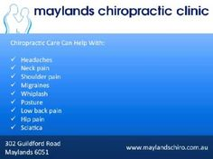 Maylands Chiropractic Clinic
