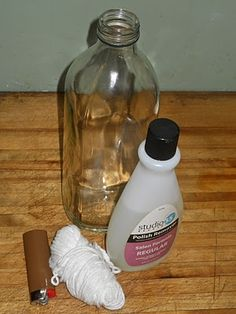 how to cut glass - great for making vases or glasses from beer bottles SO GOING TO TRY THIS