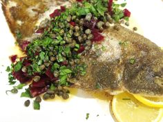 FISH, SOLE MEUNIÈRE on Pinterest | Sole Recipes, Katie Lee and Dovers