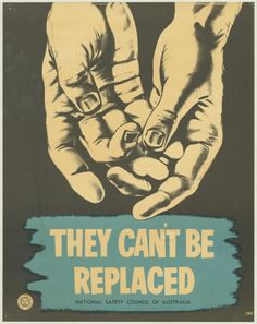 Between 1970 and 1980, the National Safety Council of Australia,  non-government, not-for-profit, membership based occupational health and safety service provider, created these wonderful posters