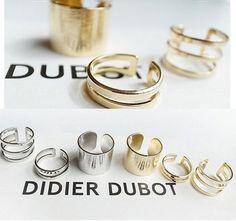 3 pçs/set brilhante Punk Polish ouro Stack banda Plain Midi Mid dedo Knuckle anéis para mulheres de jóias em Anéis de Jóias no AliExpress.com   Alibaba Group