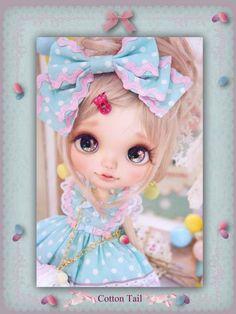 Cotton Tail パステルマカロン merody toys カスタムブライス_画像3
