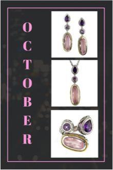 If you're looking for a birthday present for that special somone this month, @AndreaCandela has just the thing for you! #fallfashion #fallfabulous #October #OctoberBirthstone #JewelSmiths http://jewelsmiths.net/product-category/andrea-candela/