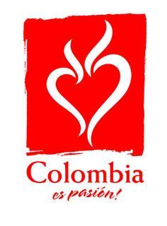 """Colombia """"Las llamas superiores significan la intensidad, la tenacidad y la alegría de los colombianos. Las formas suaves pero definidas que marcan un corazón que parece palpitar, hacen del logo un símbolo perfecto de lo mejor que tenemos los colombianos: nuestro corazón"""". Más información: http://www.colombiaespasion.com/es/colombia-es-pasion/ipor-que-colombia-es-pasion.html"""