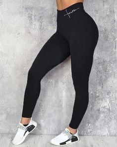 Shop Solid High Waist Sporty Pants right now, get great deals at joyshoetique Gym Pants, Gym Leggings, Sports Leggings, Printed Leggings, Workout Leggings, Yoga Pants, Leggings Are Not Pants, Sport Tights, Ruffles