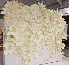 DIY Large Paper Flowers | large paper flowers | Flowers ~ DIY