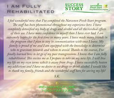 I feel wonderful now that I've completed the #Narconon Fresh Start program. The staff has been phenomenal throughout my experience here. I have completely detoxified my body of drugs and alcohol and all the residual effects of their use. I have ... [Read More] #rehabilitated https://pastthetippingpoint.net/2016/08/15/i-am-fully-rehabilitated/