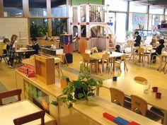 I love the spaciousness of this Montessori classroom #montessorioflosaltos.org