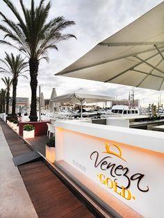 rojects PORCELANOSA Grupo: barra en Krion® en Veneza Gold, Algarve (Portugal)