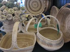 Sweetgrass baskets s
