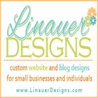 linauer designs square button  home page