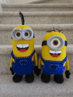 Minion Crochet Pattern
