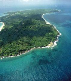 Die Corn Islands sind eine Inselgruppe etwa siebzig Kilometer östlich von Bluefields, Nicaragua im Karibischen Meer gelegen. Mittelamerika. © INTUR. Karibik.
