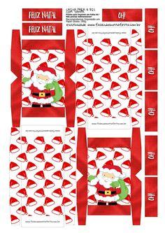Cajita para chocolates navideña