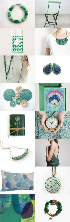 Between blue and green by Palomilla on Etsy--Pinned with TreasuryPin.com