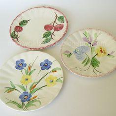 8 Plates Blue Ridge Plates Blue Plates, Love Blue, Blue Ridge, China Porcelain, Decorative Plates, Pottery, Home Decor, Blue Dishes, Ceramica